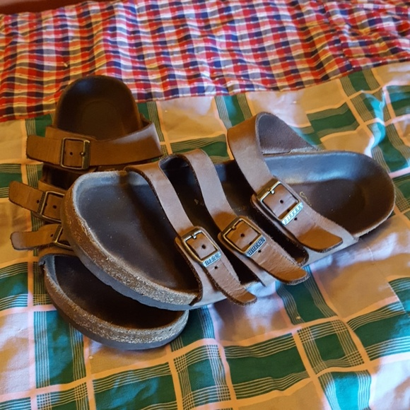 566f201c688 Birkenstock Shoes - Birkenstock Orlando Nubuck Leather Sandals